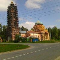 Обновление храма в Пашнево :: Виктор Мухин