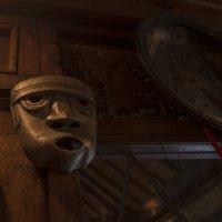бронзовая маска :: Александр