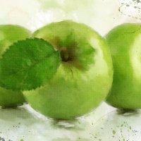 Зеленые яблоки :: Эльвира Багина
