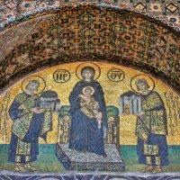 Айя-София (Собор Святой Софии). Византийские мозаики. :: Анатолий Щербак