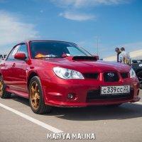Subaru Impreza WRX :: Мария Малина