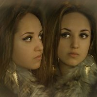 девушка в зеркале :: Анна Скиргика