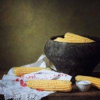 Деревенский натюрморт с кукурузой :: Ирина Приходько