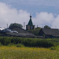 Околица в летний полдень :: Сергей Яценко