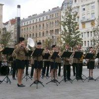 Выступление военного оркестра :: Алёна Савина