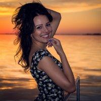 как мало нужно для счастья... красивый закат и..... :: Александр Александр