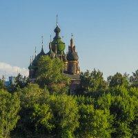 Церковь Иоанна Предтечи,1671-1687г.г. :: Сергей Цветков