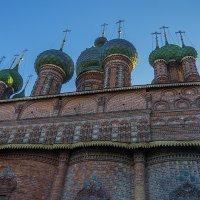 Церковь Иоанна Предтечи в Ярославле :: Сергей Цветков