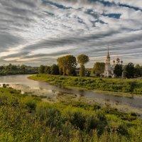 вечер на реке Вологда :: Moscow.Salnikov Сальников Сергей Георгиевич