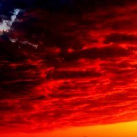 Багровый закат :: Андрей Щукин