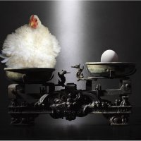 Яйцо или курица? :: Виктория Иванова