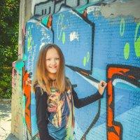 возле стены граффити :: Света Кондрашова