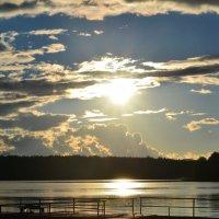 Играет небо в солнечные блинчики :: Полина Потапова