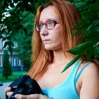 Будущая коллега. :: Svetlana Stepanova