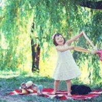 Детская выездная фотосессия :: марина алексеева