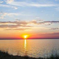 Озеро Яровое.Закат солнца. :: Slava