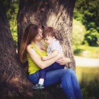мама и сын :: Екатерина Желябина