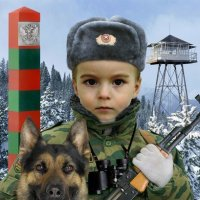 Юный защитник :: Анастасия Фёдорова