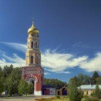 Колокольня в Монастыре Давидова Пустынь :: Игорь Терехин