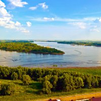 Река Кама :: Ирина Киямова