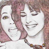 Веселые подружки :: Лидия (naum.lidiya)