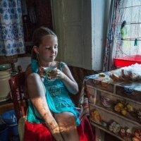 С белым хлебом молоко... :: Ирина Данилова