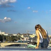 на мосту водоотводного канала :: Александр Шурпаков