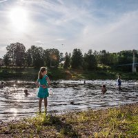 Кто сказал, что в одну и ту же реку нельзя войти дважды? :: Ирина Данилова