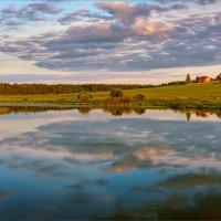 Хороши вечера в деревне... :: Александр Никитинский