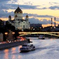 .. Городской пейзаж (этюд №2) :: Арина Дмитриева