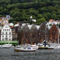Норвегия, город Берген. :: Cергей Павлович