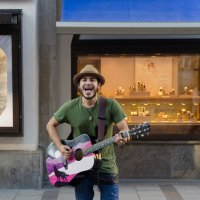 Уличный музыкант :: Eugen Pracht