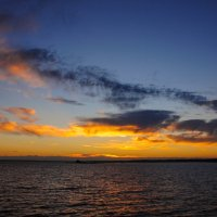 Закат в облаках :: Сергей Тагиров