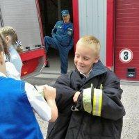 профессия - пожарный... Классный час 1 сентября :: Мария Климова