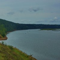 Река Обва у деревни Посёр :: Валерий Симонов