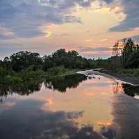 дорога в облаках :: Tatyana Belova