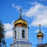 Колокольня церкви. Нижнекамск. :: Сергей Тагиров