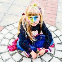 Моя красочная девочка :: Марина Романова