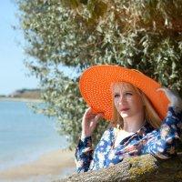 Лучше всего Девушка чувствует себя На море! )) :: Райская птица Бородина