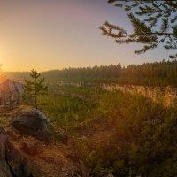 Восход над карьером. :: Alex Urbo