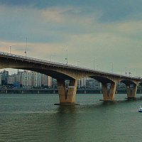 Мост через реку Ханган. :: Александр TS