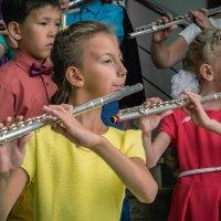 Концерт детского ансамбля флейтистов :: Марк