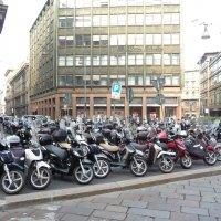 Милан парковка,возможно пробок меньше. :: Alexey YakovLev