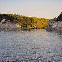 Бухта на Волге :: Сергей Тагиров