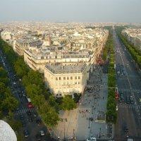 Париж. Вид с триумфальной арки :: Надежда