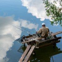 Рыбалка на облаках :: Юрий Шапошник