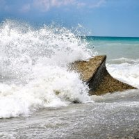 Брызги моря :: Юрий Бичеров