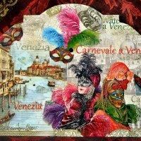 Венеция,Мой Декупаж :: татьяна петракова