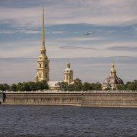 Вид на Петропавловскую крепость (Санкт-Петербург) :: Борис Гольдберг