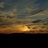 Акварельные краски заката. :: Сергей Комков